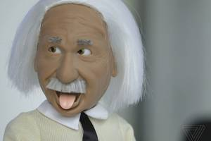this einstein bot is like a silly, slow alexa doll