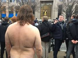 everything you didn't see at the inauguration and women's march in washington, d.c.