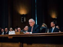 rex tillerson confirmation hearing: marco rubio will support secretary of state pick