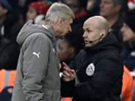 Arsenal boss Arsene Wenger charged with misconduct