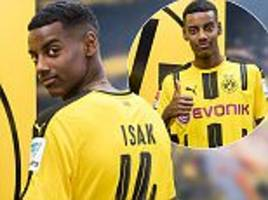 borussia dortmund beat real madrid to alexander isak