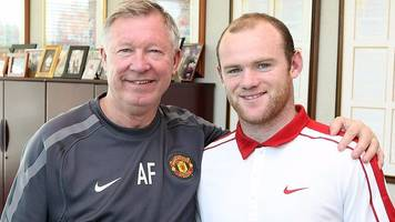 wayne rooney: when manchester united striker nearly quit old trafford