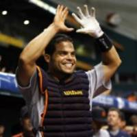 retired mlb player ivan rodriguez on his way to hall of fame