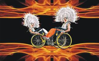 THE FLAMING WHEELS Coming to Your City Soon