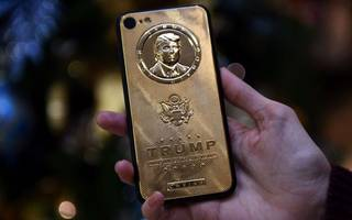 trump's inaugural address pushes gold to a two-month high