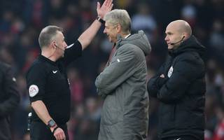 wenger hit with misconduct charge over clash with official