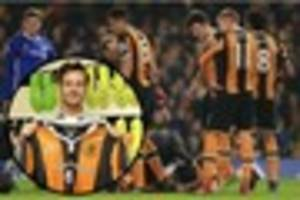 hull city players lead support for ryan mason after he fractures...