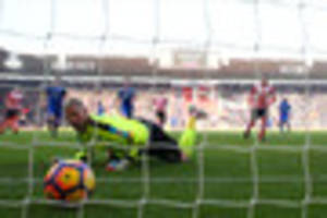 leicester city's away form hit an all-time low in the defeat at...