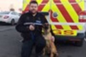 VIDEO: Fenton police officer becomes Staffordshire Police's...