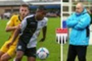 bath city miss out on striker scott wilson despite eastleigh fc...
