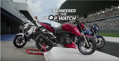 tvs motor company launches new advertising campaign for – tvs apache rtr 200 4v