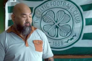celtic fans cock-a-hoop as club flag plays starring role in amazon prime hit series