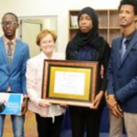 aun students' campaign wins african anti-extremism competitiona