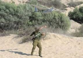 IDF loses military drone for second time in a week