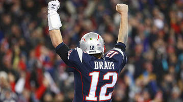 business as usual: brady's pats make it look easy vs. steelers to put another title in reach
