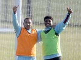 Dimitri Payet happy in training with West Ham's reserves