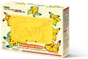 The New Nintendo 3DS XL is getting an adorable Pikachu makeover