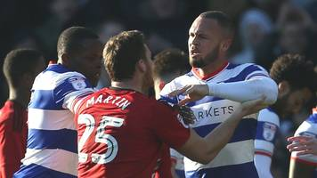 qpr and fulham charged after melees