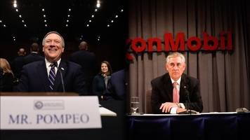 pompeo confirmed for cia head, rex tillerson approved by senate panel