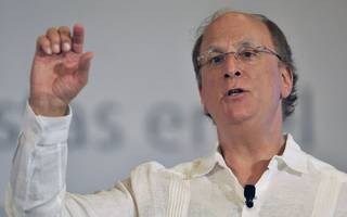 blackrock will vote against high exec pay says fink
