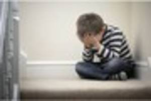 hospital admissions of anxious children rise by 40 per cent