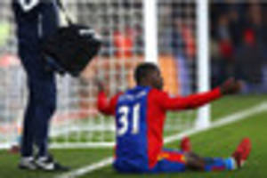 crystal palace's jeffrey schlupp gutted and frustrated with...