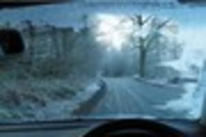 a severe ice and fog weather warning has been issued for kent