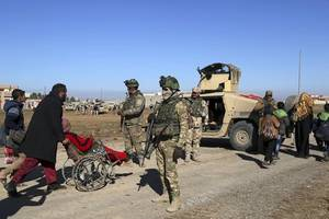 un fears up to 750,000 iraqis could be displaced in western mosul offensive