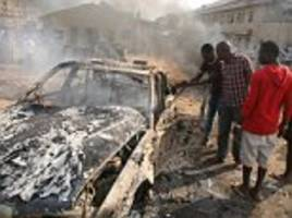 nigerian suicide bomber uses a baby as a decoy