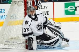 jonathan quick injury update: kings goalie out until march