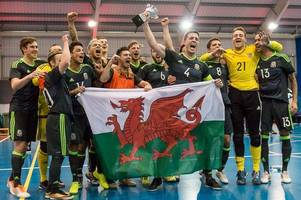 wales' futsal stars set for biggest test of their lives as they look to emulate chris coleman's euro 2016 heroes