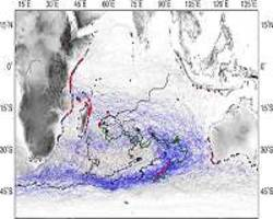 oceanographic analysis offers potential crash site of mh370