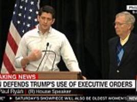 paul ryan says 'we are going to finance' $15bn mexico wall