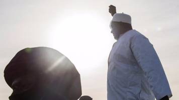 gambia's new president adama barrow arrives home