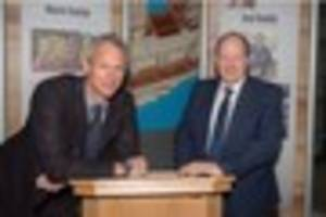 olympic legend mark foster and ged roddy inducted to university...