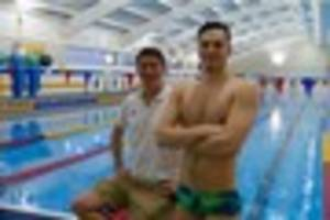 olympic swimmer james guy reveals why he moved his training base...