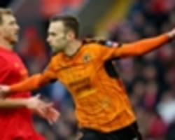 liverpool 1-2 wolverhampton wanderers: klopp's side limp out of fa cup