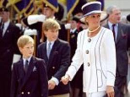 william and harry reveal plans for new memorial for diana