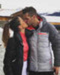 snapped: morgan schneiderlin enjoys romantic kiss with gorgeous girlfriend camille sold