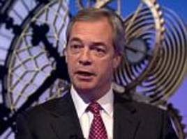 farage suggests uk should copy trump's immigration ban