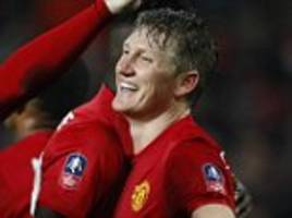 manchester united 4-0 wigan athletic: hosts into last 16