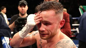 carl frampton vows to come back stronger from first defeat