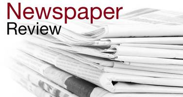 newspaper review: our champ framp and parking tickets