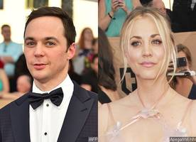 are jim parsons and kaley cuoco fighting over sag awards seating arrangement?