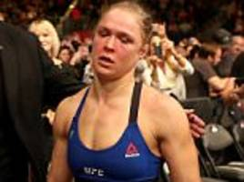 ufc news: dana white does not expect ronda rousey return