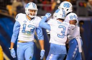 nfl combine: trio of tar heels receivers get invite