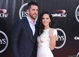 olivia munn's new ring sparks aaron rodgers engagement rumors. check out the sparkler