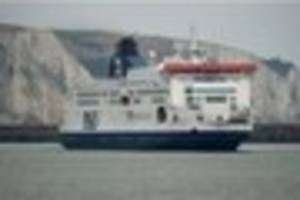 eight crew members of a p&o ferry tested positive for illegal...