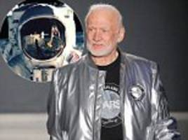 buzz aldrin makes debut at new york men's fashion week