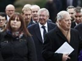 graham taylor's funeral attracts hundreds of mourners